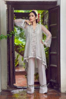 Mahgul Embroidered Dress Bita 3