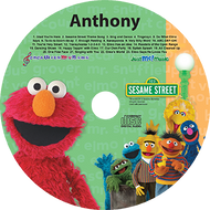 Elmo and Friends Personalized Kids Music CD