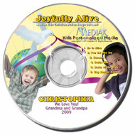 Joyfully Alive Personalized Kids Music CD