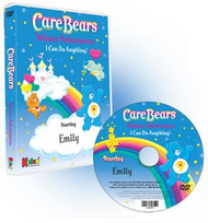 Care Bears Winter Adventure Personalized DVD for Kids Case