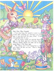 Easter Bunny Letter