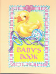 Baby's Book Personalized Children's Book