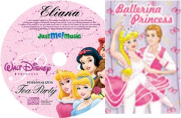 Princess Book and CD Combo
