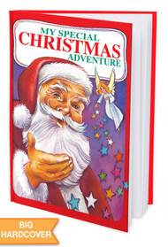 My Special Christmas Adventure Personalized Childrens Book - Hard Cover