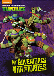 My Adventure with the Turtles  Personalized Childrens Book - Big Size
