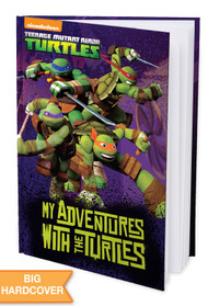 My Adventure with the Turtles  Personalized Childrens Book - Hard Cover