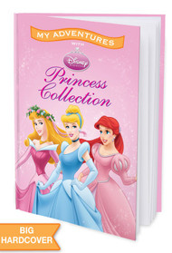 My Adventures with Disney Princess Collection Personalized Childrens Book - Hard Cover