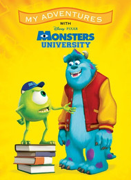 My Adventures with Disney/Pixar Monsters University - Personalized Childrens Book - Big Size