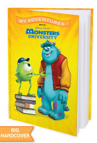 My Adventures with Disney/Pixar Monsters University - Personalized Childrens Book - Hard Cover