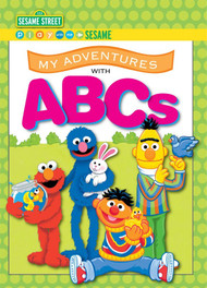 My Adventures with ABCs - Sesame Street -  Personalized Childrens Book - Big Size