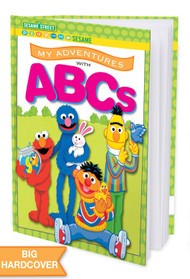 My Adventures with ABCs - Sesame Street -  Personalized Childrens Book - Hard Cover