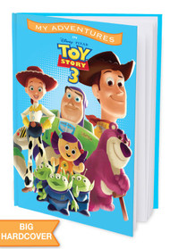 My Adventures with Disney/Pixar Toy Story 3 -  Personalized Childrens Book - Hard Cover