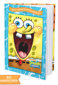 My Adventures with SpongeBob SquarePants -  Personalized Childrens Book - Hard Cover