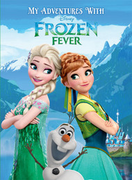 My Adventures with Disney Frozen Fever Personalized Childrens Book - Big Size
