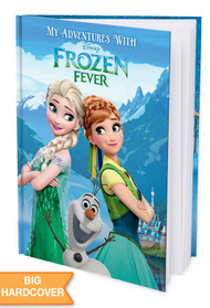 My Adventures with Disney Frozen Fever Personalized Childrens Book - Hard Cover