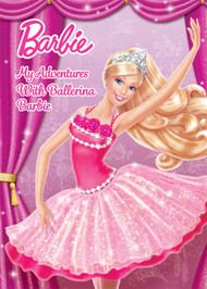 My Adventures with Ballerina Barbie Personalized Childrens Book - Big Size