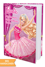 My Adventures with Ballerina Barbie Personalized Childrens Book - Hard Cover