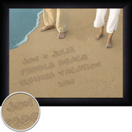 Personalized Sand Toes Wall Art