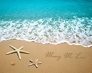 Beaches with Starfish Wall Art