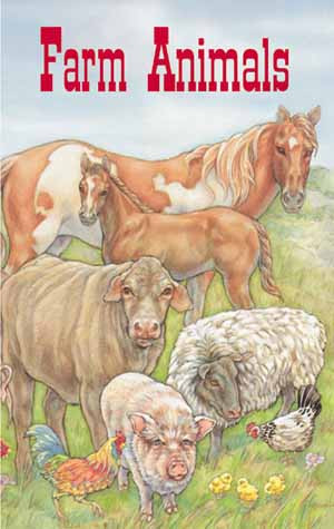 Farm Animals Personalized Childrens Book