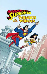 Superman and Wonder Woman Personalized Childrens Book DC Comics