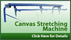 Canvas Stretching Machine Banner