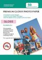 Digital Printing Photo Paper Sheets 50 PACK: 5X7