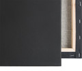 "Economy Stretched Canvas : 11 X  14 Box of 20 :  5/8"" Econo Black"