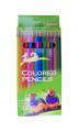 """Colored Pencil - 6"""" X 3/8"""" ,12 pcs/Box"""
