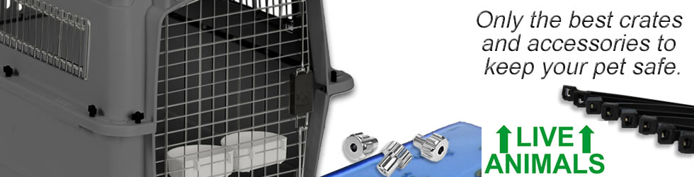 Pet cargo crates and accessories from Petmats