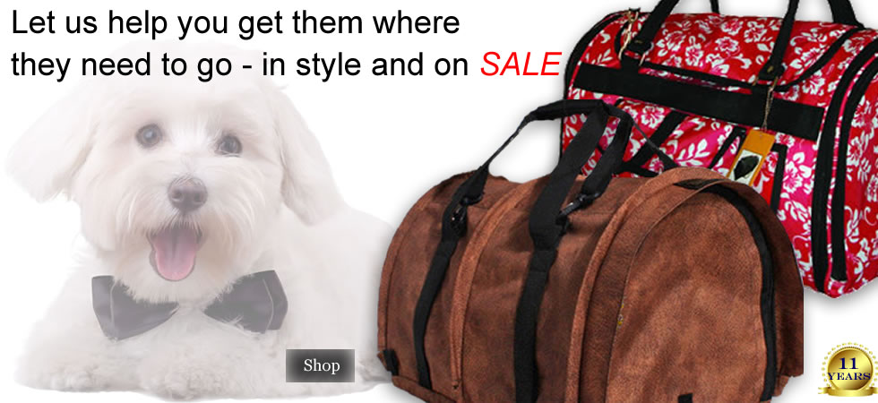 Pet Carriers for Airline or Auto Travel