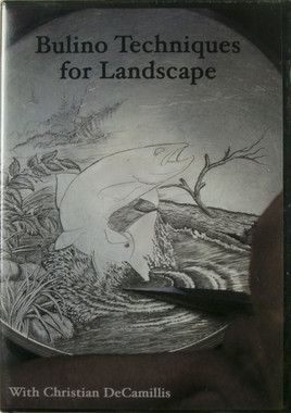 Bulino Techniques for Landscape DVD by Christian DeCamillis