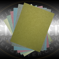 3M WetOrDry Polishing Paper for finishing fine jewelry and hand engraving. 6 color coded grits from 400 - 8000. Available individually or in sets.