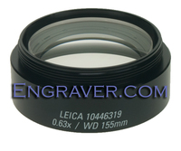 Leica 0.63 Objective Lens for the A60 series microscope