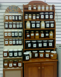 Raw Honey Shelf