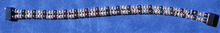 This is our double bracelet with silver-colored and rainbow magnetic beads.  Please choose a wrist size.