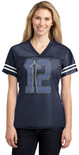12 with Space Needle Jersey XS to 4XL From Sport-Tek