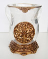 Acrylic Washing Cup Gold (WC-AVI566G)