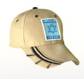 Jerusalem/Israel Star of David Cap Tan (I-IC#12)