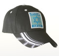 Jerusalem / Israel Star of David Cap Black (I-IC#10)