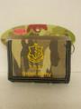 Wallet With Zahal IDF Flag Velcro Camouflage  (I-IDFW)