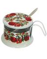 Honey Dish Aluminum Pomegranates (HD-87355)