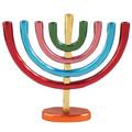 Anodize Chanukah Menorah Colorful (EM-HMB3)