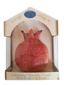 Havdallah Candle Rimon - Pomegranate Shape (HV-HMCRMN)