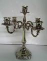 5 Branch Nickel plated candlesticks (CS-701505)
