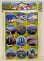 Israel's Cities Stickers 10 pages (124041)