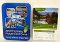 Picture Card Game Israel Views Reviot TIN BOX (27279-5)