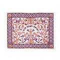 Emanuel Embroidered Challa Cover Paper-Cut Maroon (EM-CME17M)