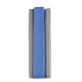Aluminum Mezuzah 10cm Silver / Blue (EM-MZIM3)