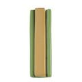 Aluminum Mezuzah 10cm Gold/Green (EM-MZIM4)